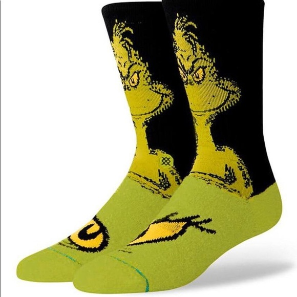 Stance Other - Stance The Grinch Crew Height Sock